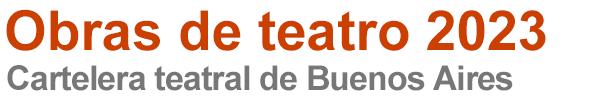 Obras de teatro 2021